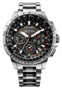 CITIZEN SATELLITE WAVE GPS TITANIUM