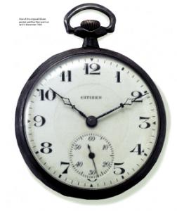 Uno dei primi orologi Citizen prodotto nel 1924.