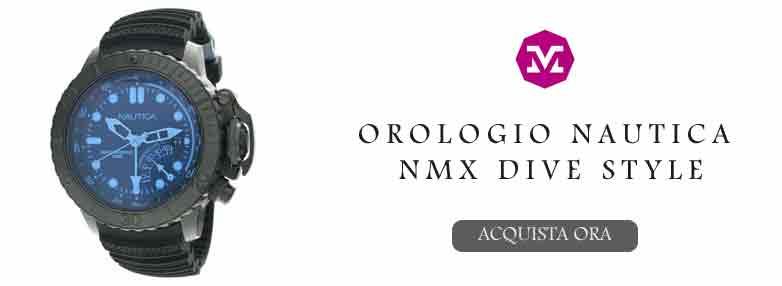 Orologio multifunzione Nautica NMX Dive Style