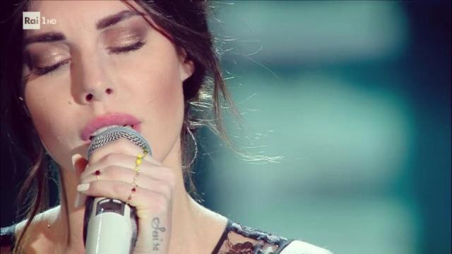 Bianca Atzei a Sanremo 2017