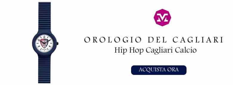 Orologio Hip Hop del Cagliari