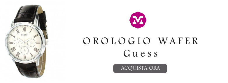 Orologio Wafer Guess