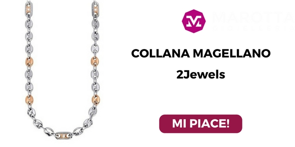 Collana 2Jewels per testimone