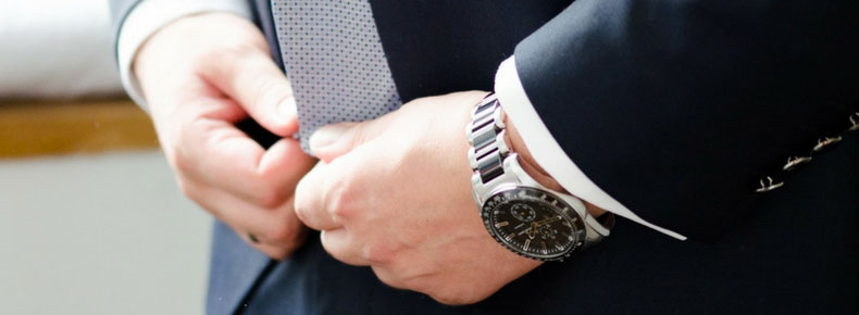 Orologio cronografo uomo