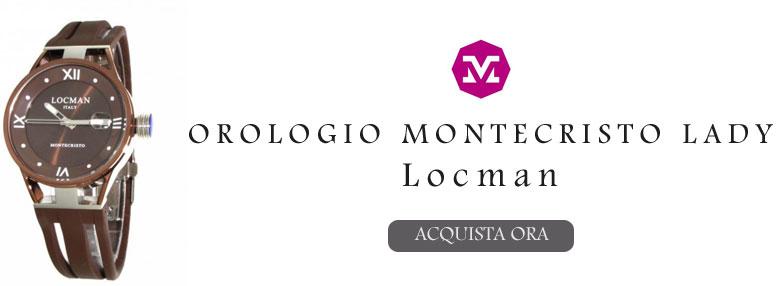 Orologio numeri romani Locman lei