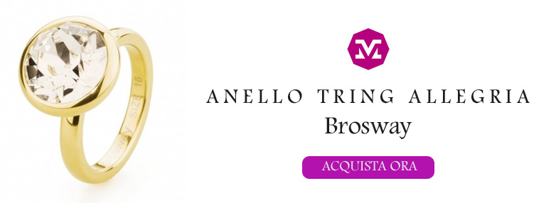 anello Brosway Tring Allegria