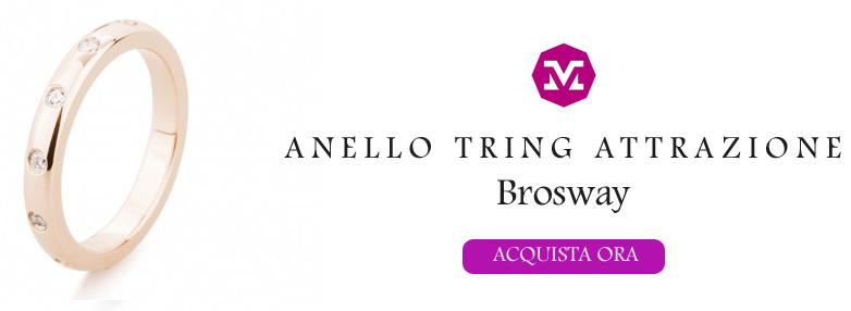 Anello Brosway Tring Attrazione
