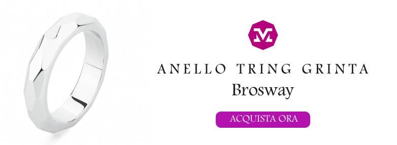 Anello Brosway Tring Grinta