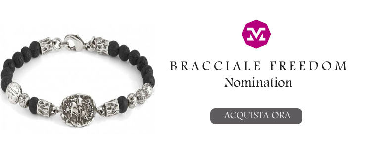 Bracciale da uomo Freedom Nomination