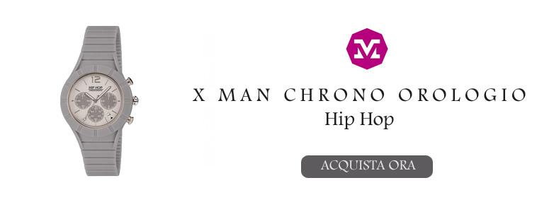 HIP HOP XMAN CHRONO OROLOGIO