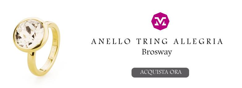 Anello Tring Allegria Brosway