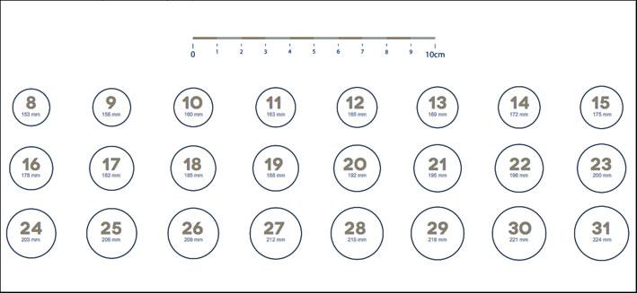 tabella taglie anello