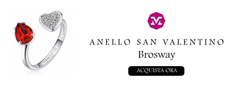 Anello Brosway Affinity San Valentino