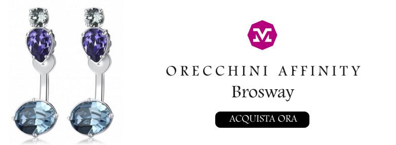 ORECCHINI AFFINITY BROSWAY