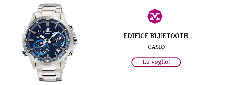 Casio orologio edifice bluetooth