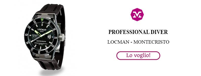 Locman Montecristo, Professional Diver
