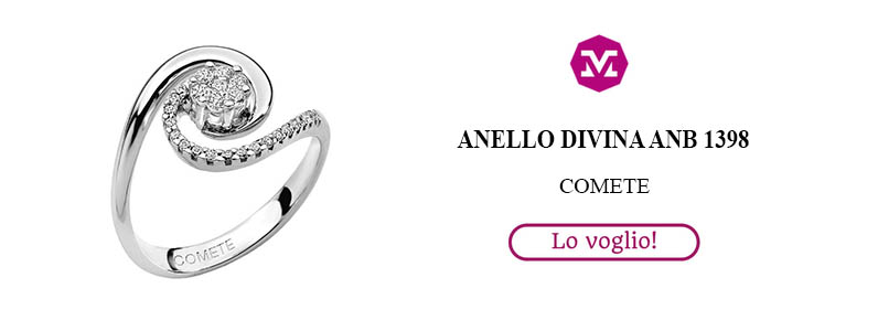 Anello Divina Diamanti Comete