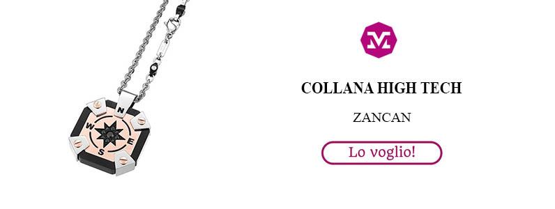 Collana Acciaio High Tech Zancan