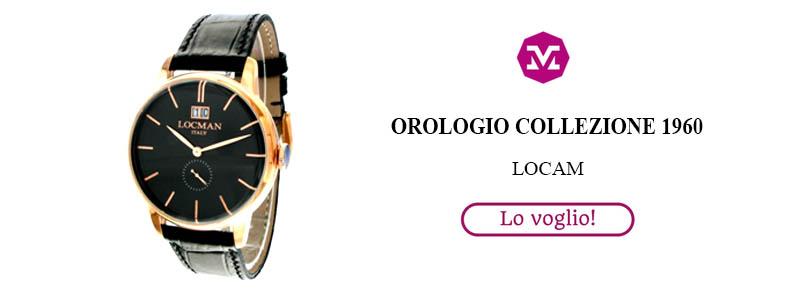 Orologio collezione 1960 classico Locman
