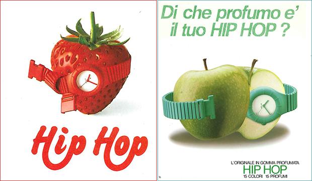 Orologio Hip Hop negli anni Ottanta